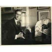 1918 Press Photo Nonuau Jacobsen