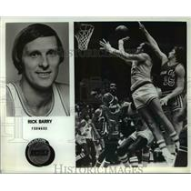 Press Photo Rick Barry, Golden State Warriors Forward - ors00156