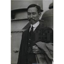 1918 Press Photo H Kitimura Japanese attache of Expo committee