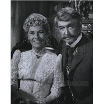 Press Photo James Stewart & Gloria Stewart in The Jimmy Stewart Show