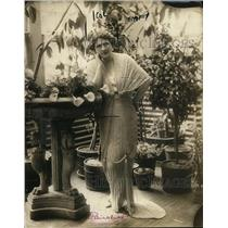 1919 Press Photo Julie Opp aka Mrs William Faversham
