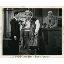 1964 Press Photo Burl Ives & Tony Randall in The Brass Bottle