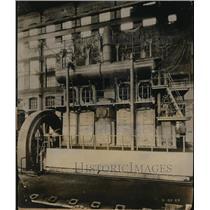 1926 Press Photo 1st New Diesel convert Steamship to Worthington oil Motors
