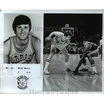 Press Photo Rick Barry, Golden State Warriors Forward