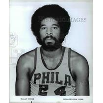 Press Photo Wally Jones Philadelphia 76ers