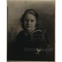 1923 Press Photo Greita Stoddard girl preacher