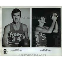 Press Photo Don May Philadelphia 76ers