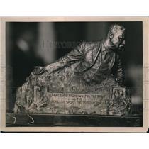 1923 Press Photo Roosevelt Statue in Washington
