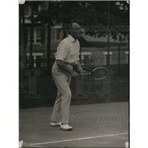 1920 Press Photo Sir Auckland Geddes British Amb at tennis