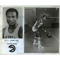 1978 Press Photo Atlanta Hawks Charles Criss basketball Player