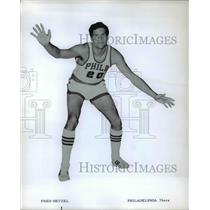 Press Photo Fred Hetzel of Philadelphia 76ers