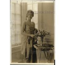 1919 Press Photo Mrs John G Boatwright nee Mary Archer Glass