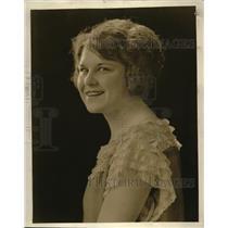 1923 Press Photo Geraldine Kemp Queen of beauty contest in Calif