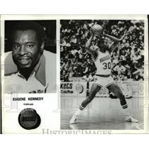 Press Photo Eugene Kennedy forward for Houston Rockets