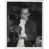1954 Press Photo Saburi Sakai Surviving Air Ace