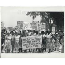 Press Photo March on Washington