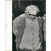 1972 Press Photo heroin smuggler Francois Chiappe caught in Buenos Aires