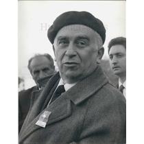 Press Photo Secretary of the Communist Party in Italy, Luigi Lonjo - KSB07973