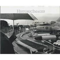 1968 Press Photo V.I.P. Day at Farnborough Air Show