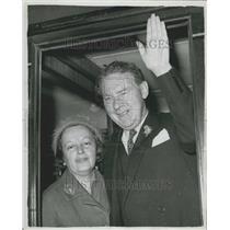 1963 Press Photo British Labour Party Leader Hugh Gaitskell Death