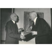 1952 Press Photo Francois Mauriac Awarded Nobel Prize For Literature