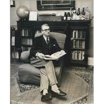 1963 Press Photo Norwich Union Insurance Group Director Lord Mancroft Library
