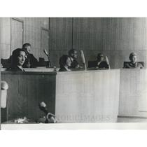 1966 Press Photo Mrs.Hreliac Siderow (left), pictured in court