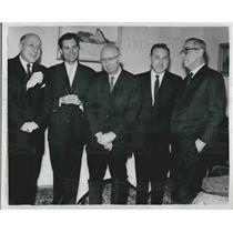 1961 Press Photo Nobel winners for 1961 - KSB06873