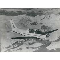 Press Photo L963 Version Wassmar WA.40 Super IV In Flight