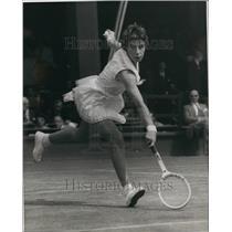 1959 Press Photo Ladies' Singles at Wimbledon Miss Bueno beats Miss Buding