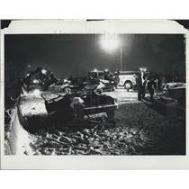1982 Press Photo Florida 727 jet crashed on takeoff