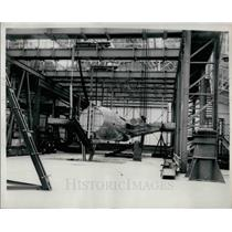 1953 Press Photo New wintunnel at test labs in Badlett - KSB29781