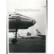 1955 Press Photo Sewist Tul104 Jet Airliners - KSB41557
