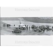 1972 Press Photo Arab terrorists seized a Lufthansa aircraft