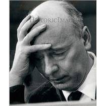 1966 Press Photo Giancarlo Pajetta, 54, member off the Communist Party Secretary