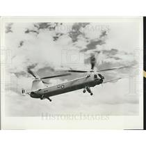 1959 Press Photo British Royal Air Force Gas Turbine Helicopter Bristol Type 192