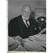 1968 Press Photo The Nobel peace prize awarded to Rene Cassin - KSB01555