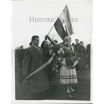 1906 Press Photo Hyde Park Help Hungary Meeting University Students