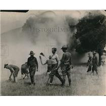 1912 Press Photo U.S. Army Maneuvers.