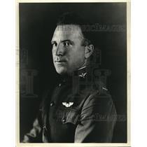1923 Press Photo 1st Lt. J.D. Corklle, Air Service Pilot of Curtiss Army Racer.