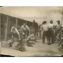 1917 Press Photo Kitchen set up at Citizens Army training camp in NY
