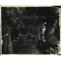 1925 Press Photo Indoor Rainforest at Sportsmens and Tourists Fair in Spokane