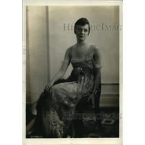 1920 Press Photo Mrs Ferdinand Mchrenschildt nee Mona McAdoo in NYC