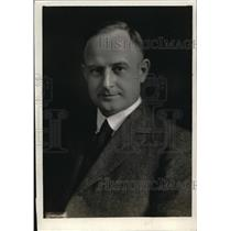 1920 Press Photo MAx Threlen Director General of RR during federal control