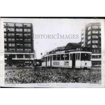 1943 Press Photo Hitler on beautifying the city of Berlin,Germany