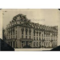 1920 Press Photo The Tianon Palace Hotel Versailles