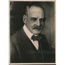 1919 Press Photo Hugh C. Wallace, United States Ambassador to France