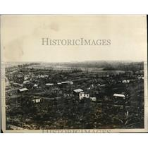 1927 Press Photo  Mailly- Raineval France  to be rebuilt  after the war