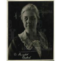 1920 Press Photo Miss Irene Sheppard YWCA sec in South America