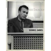 """1964 Press Photo Dennis James in """"Your First Impression"""" - orp16299"""
